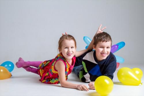 bērnu ballītes fotosesija