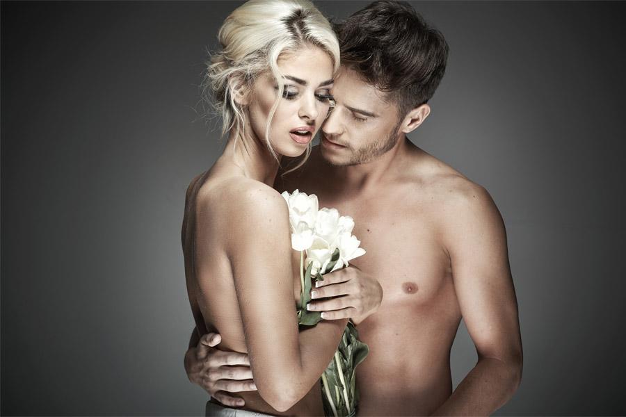 erotiska fotosesija