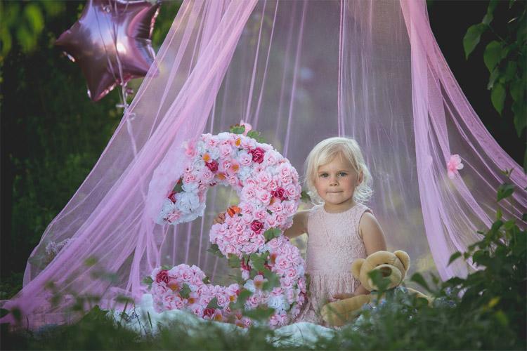 idejas bērnu fotosesijai