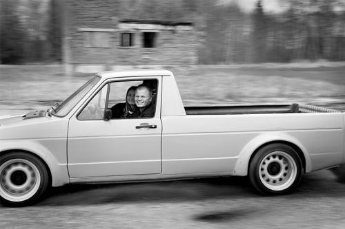 bilde kustībā ar auto