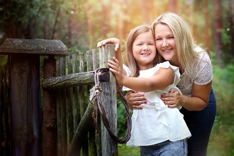 mamma ar meitu pie žoga