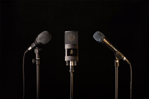 trīs veidu mikrofoni