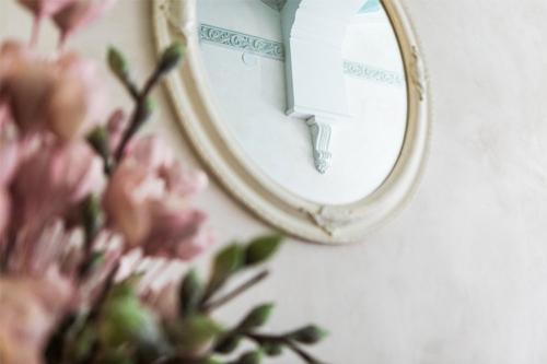 interjera bilde ar spoguli