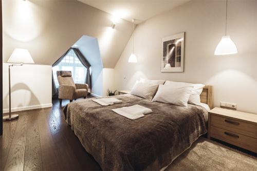ideja mājīgas guļamistabas dizainam
