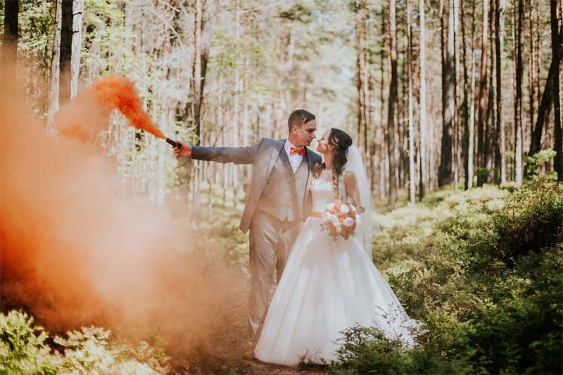 labākās dūmu sveces kāzās