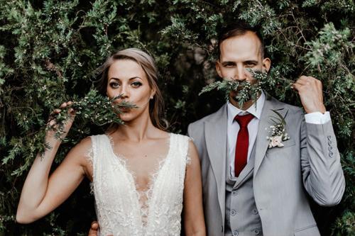 pāris, kas šķietami gatavojas precēties