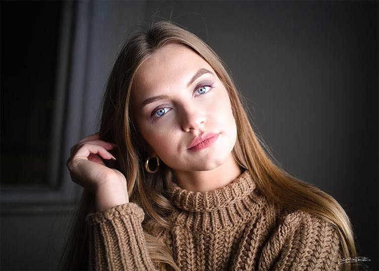 skaista portreta fotogrāfija