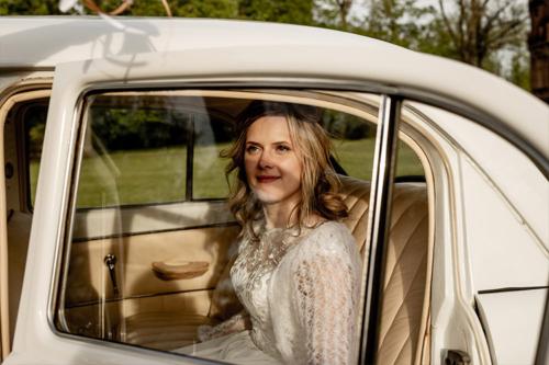 līgava nomātā auto